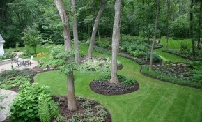 24 Beautiful Backyard Landscape Design Ideas Gardening for Backyard Trees Landscaping Ideas