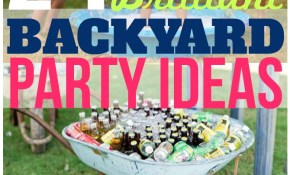 24 Brilliant Backyard Party Ideas The Krazy Coupon Lady with 10 Smart Ideas How to Makeover Ideas For Backyard Party