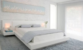 25 Tips And Photos For Decorating A Modern Master Bedroom regarding White Modern Bedrooms