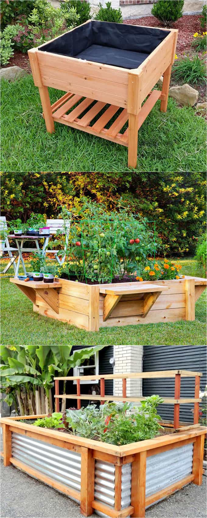 28 Amazing Diy Raised Bed Gardens A Piece Of Rainbow intended for 13 Clever Initiatives of How to Make Backyard Raised Garden Ideas