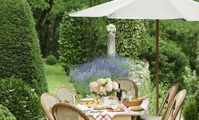 28 French Gardens Best French Style Garden Designs throughout Country Backyard Landscaping Ideas