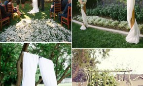 30 Sweet Ideas For Intimate Backyard Outdoor Weddings regarding Wedding Ideas For Backyard