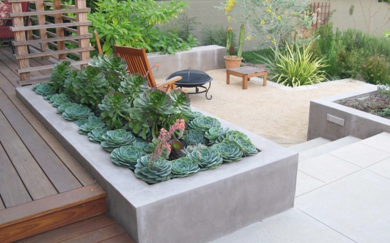 33 Best Built In Planter Ideas And Designs For 2019 with regard to Backyard Planter Ideas