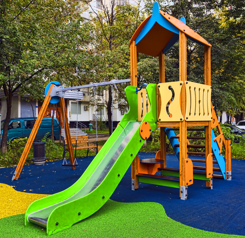 34 Amazing Backyard Playground Ideas And Photos For The Kids Of Course in 10 Smart Initiatives of How to Build Cheap Backyard Playground Ideas