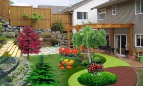 35 Cozy Simple Backyard Landscaping On A Budget Plants pertaining to 13 Awesome Designs of How to Makeover Best Backyard Landscape Designs