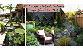 40 Beautiful Backyard Landscaping Design Ideas On A Budget Crunchhome with Beautiful Backyard Landscaping Ideas