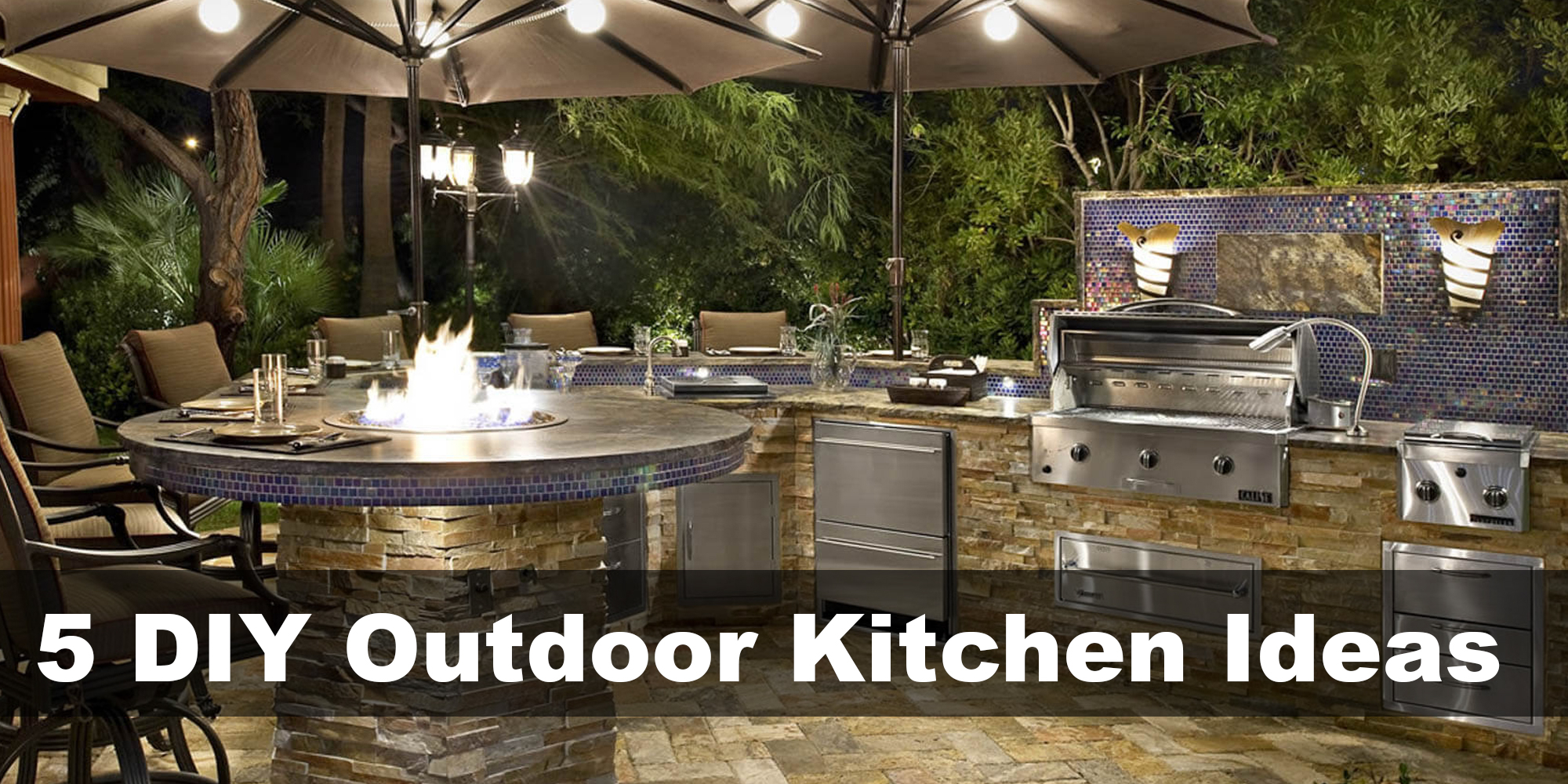 5 Diy Outdoor Kitchen Ideas To Transform Your Backyard To Fine Dining in 13 Clever Concepts of How to Make Backyard Kitchen Ideas