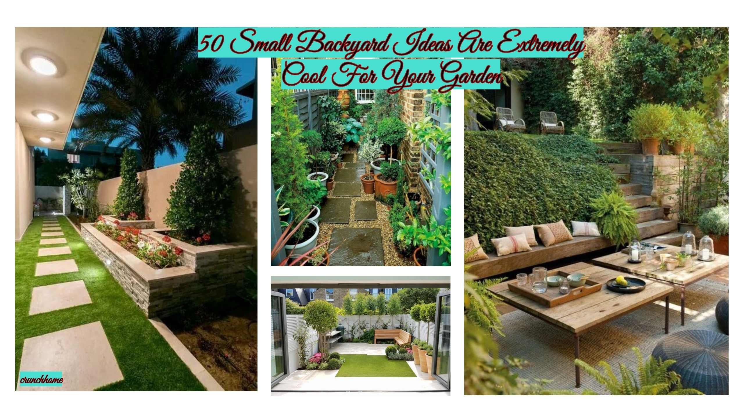 50 Small Backyard Ideas Are Extremely Cool For Your Garden Crunchhome intended for 12 Awesome Ideas How to Make Best Backyard Ideas