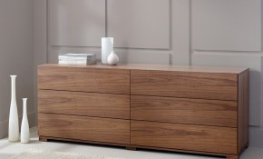 6 Drawer Chest Walnut Home Decor Chest Of Drawers Modern inside Modern Bedroom Chest