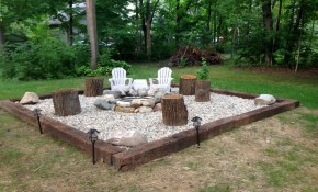 69 Simple And Cheap Fire Pit And Backyard Landscaping Ideas intended for 10 Some of the Coolest Concepts of How to Makeover Cheap Ideas For Backyard