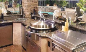 70 Awesomely Clever Ideas For Outdoor Kitchen Designs Garden And throughout Backyard Kitchen Ideas