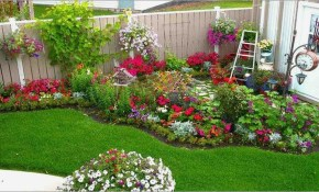 75 Magical Garden Flower Bed Ideas And Designs For Backyard Front with Backyard Flower Ideas