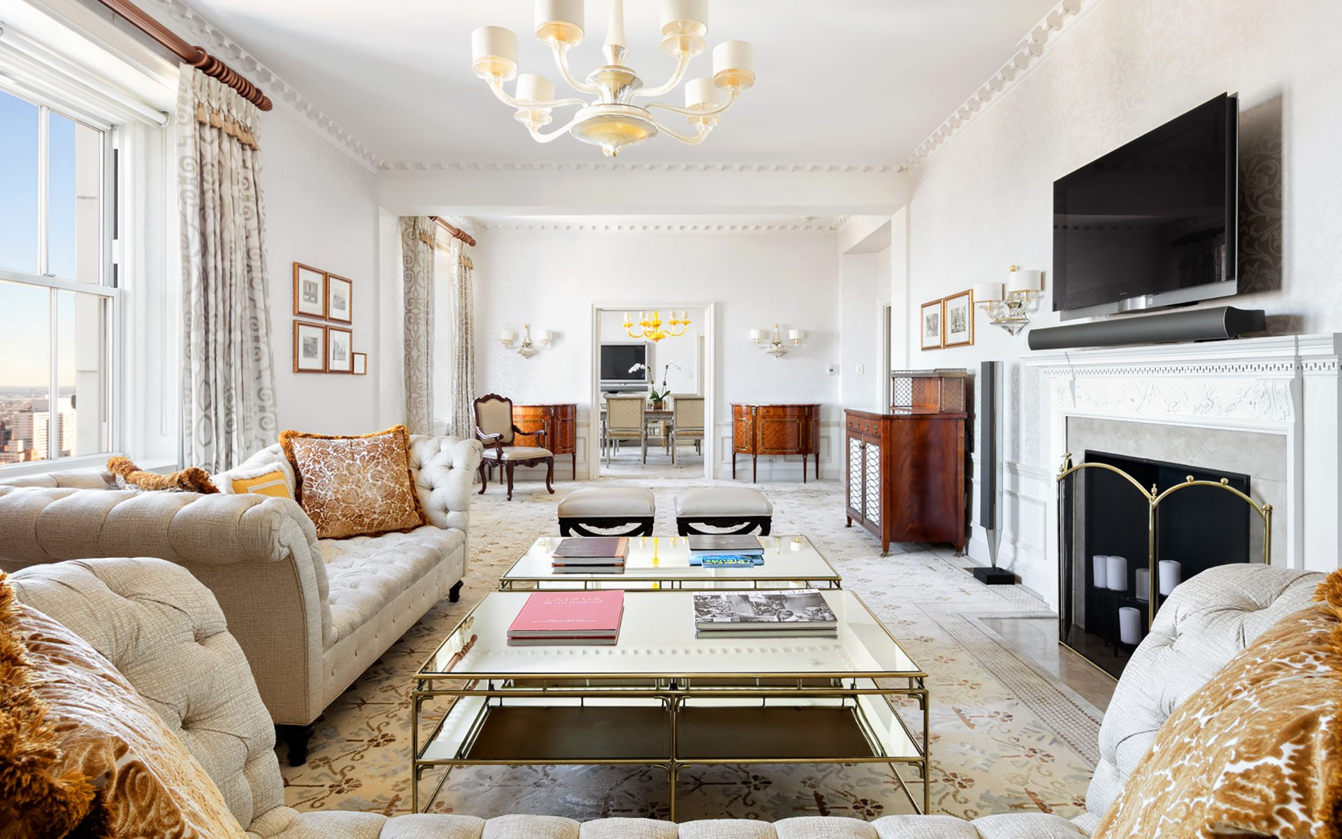 9 Of The Most Expensive Hotel Suites In New York City Galerie within 14 Some of the Coolest Tricks of How to Upgrade Living Room Sets Nyc