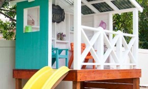 A Backyard Or A Room At The Back Of Your House Might Be A Great throughout 11 Awesome Ideas How to Craft Backyard Playhouse Ideas