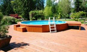 Above Ground Swimming Pools Designs within 10 Awesome Tricks of How to Build Above Ground Pool Ideas Backyard