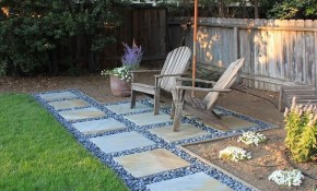 Affordable Small Backyard Landscaping Ideas 33 Walkwaylandscape for Backyard Patio Landscaping Ideas