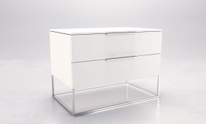 Alda White Modern Nightstands Contemporary Nightstands throughout 11 Genius Designs of How to Build White Modern Bedroom