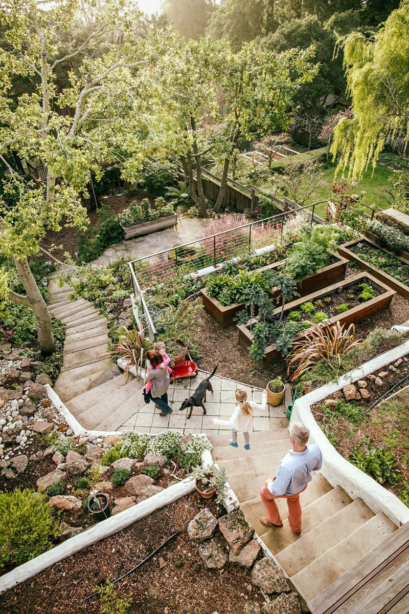 Amazing Ideas To Plan A Sloped Backyard That You Should Consider inside 10 Awesome Initiatives of How to Make Landscaping Sloping Backyard Ideas