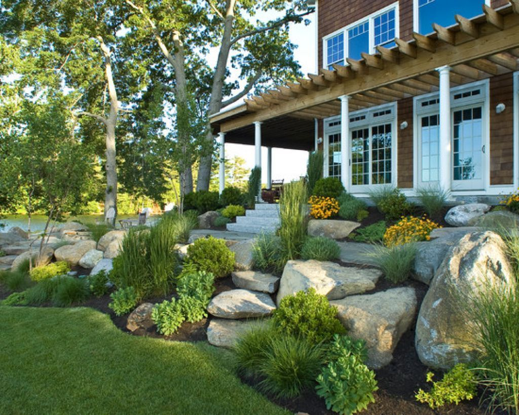 Amazing Rock Landscaping Ideas For Front Yard Styles Inspiring with regard to 13 Smart Concepts of How to Craft Backyard Landscaping Ideas With Stones