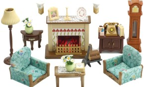 Amazon Sylvanian Families Drawing Room Set Toys Amp Games Impressive in Sylvanian Families Cosy Living Room Set