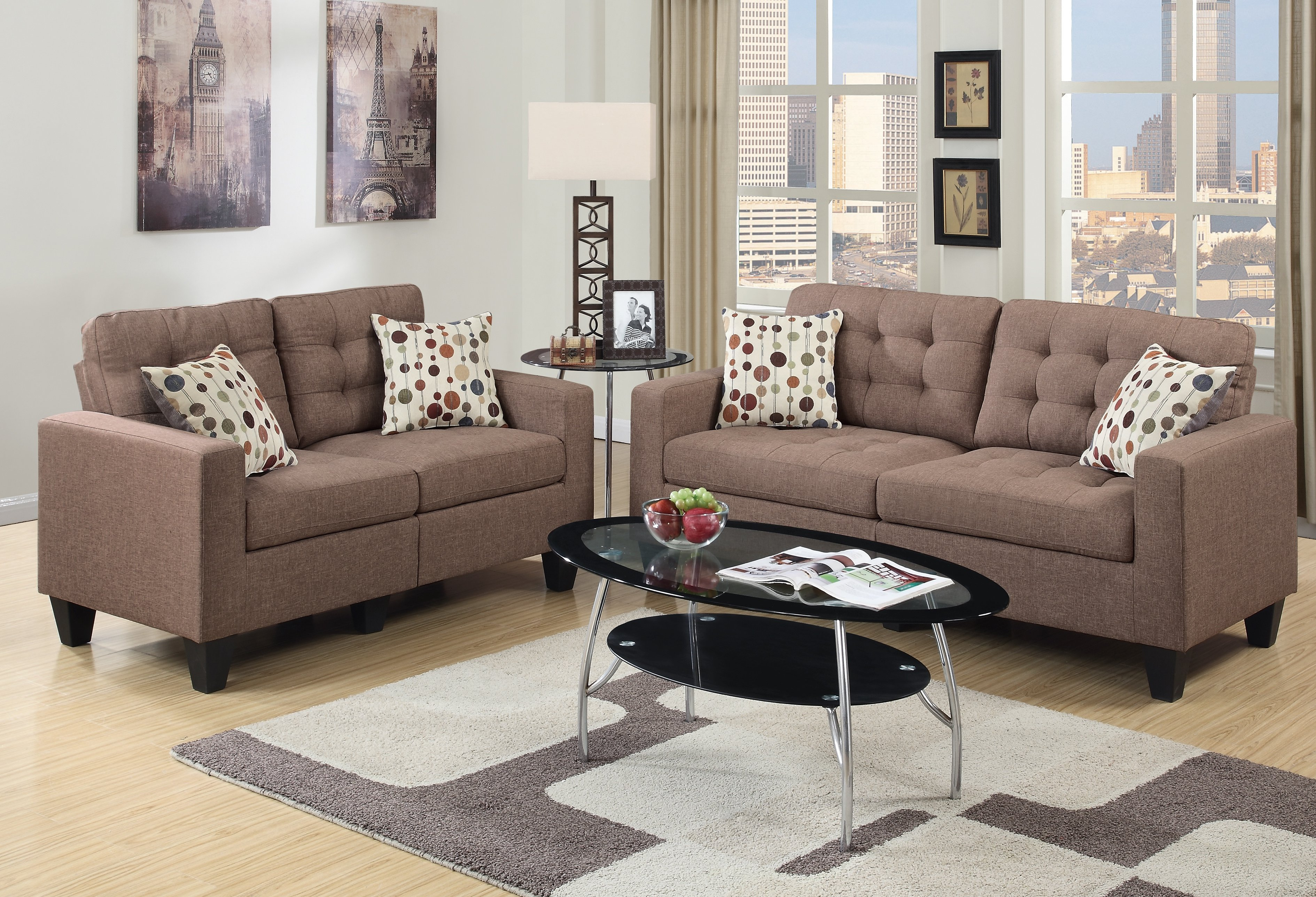 Andover Mills Callanan 2 Piece Living Room Set Reviews Wayfair for Full Living Room Sets Cheap