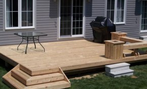 Appealing Simple Patio Ideas For Small Backyards Pictures Design regarding 15 Smart Ideas How to Upgrade Backyard Wood Deck Ideas