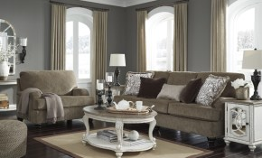 Ashley 409 Braemar Living Room Set Best Furniture Mentor Oh inside Living Room Sets