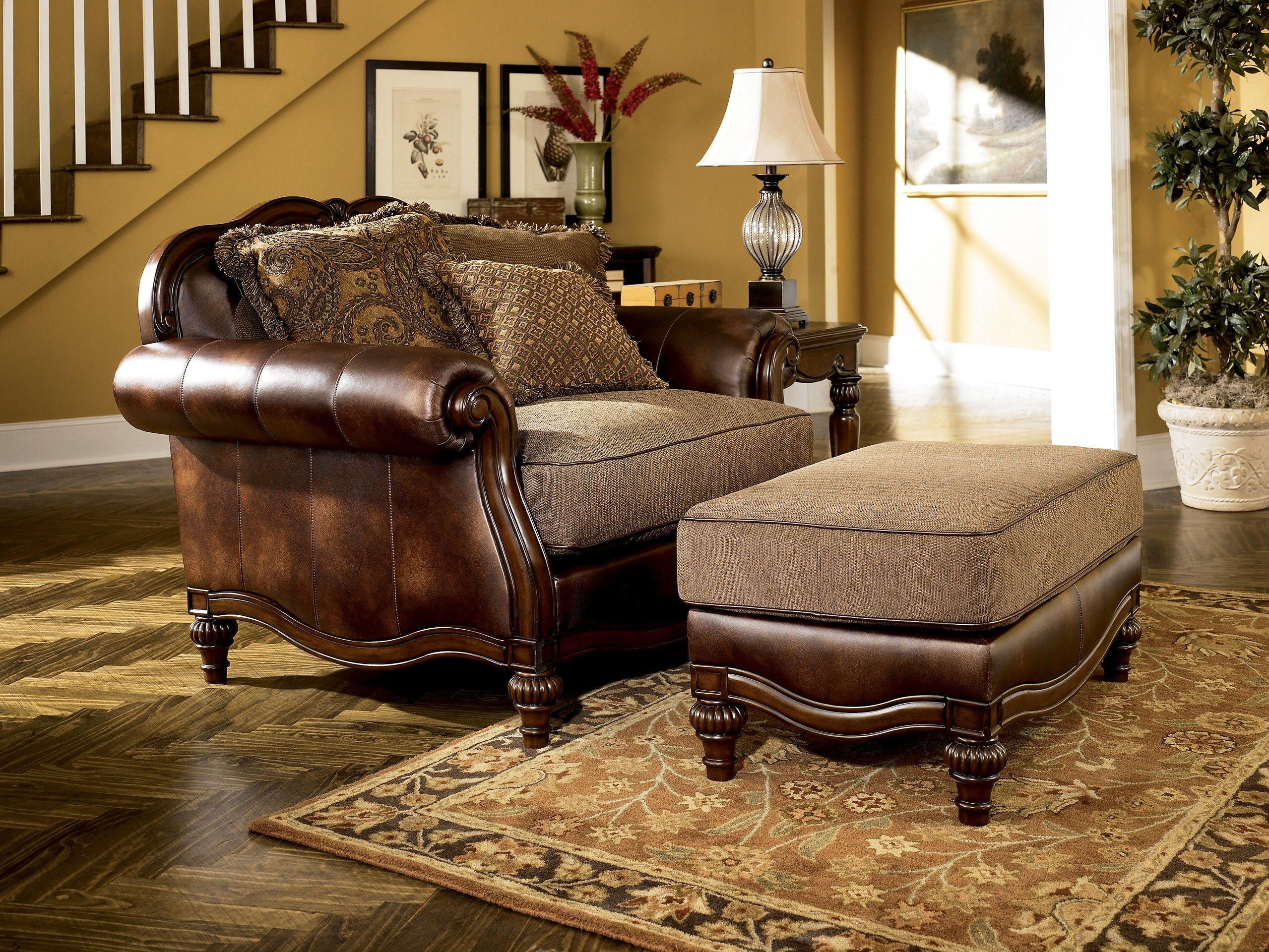 Ashley Claremore 8430314 Signature Design Ottoman Editor Picks regarding 12 Smart Ways How to Make Claremore Antique Living Room Set