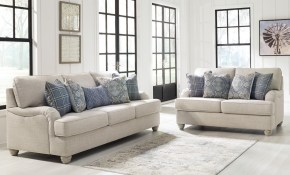 Ashley Furniture Traemore Living Room Set In Linen Local Furniture intended for Living Room Set