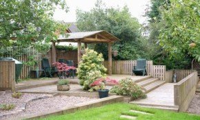 Asian Backyard Ideas Front Yard Landscape Fence regarding Asian Backyard Ideas