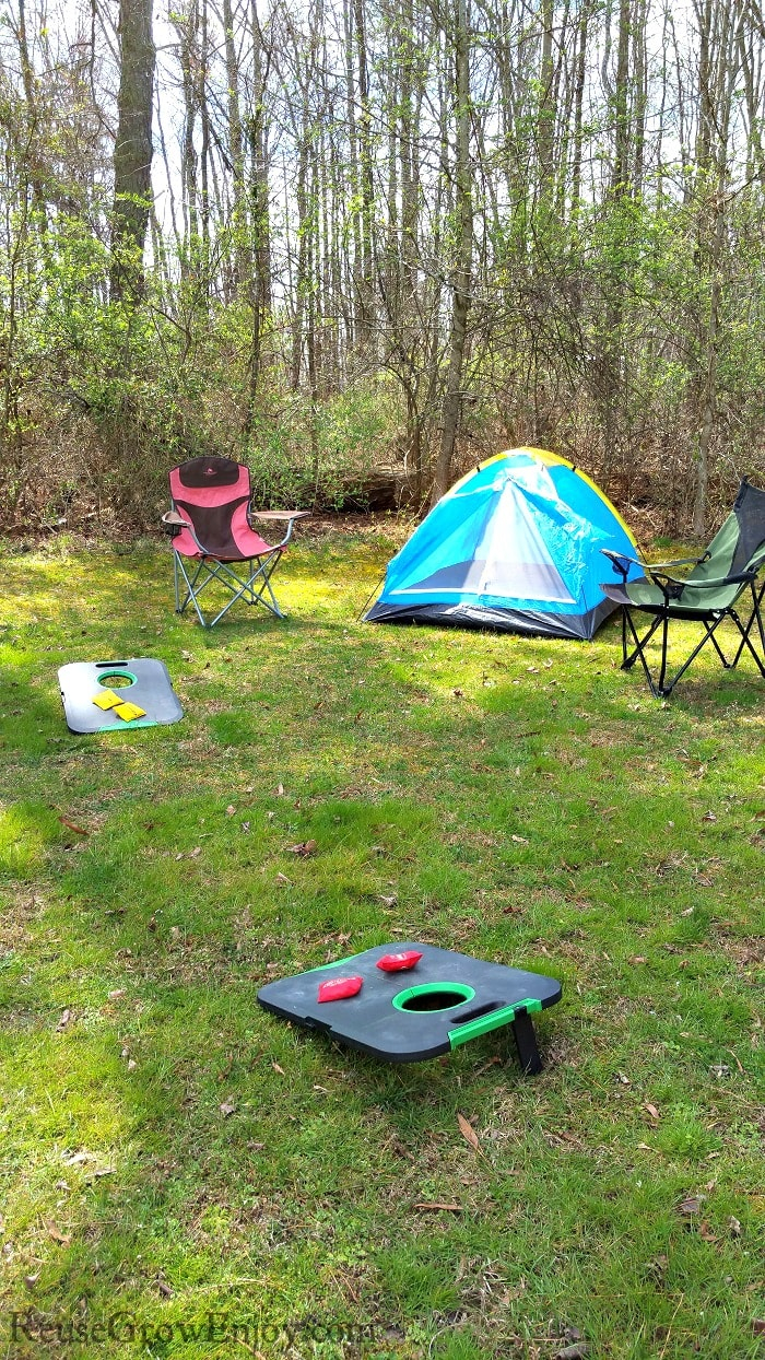 Backyard Camping Fun For The Whole Family Reuse Grow Enjoy with regard to Backyard Camping Ideas For Adults