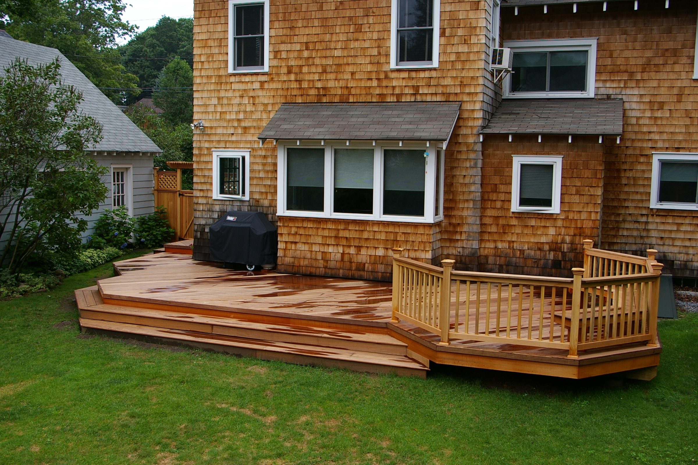 Backyard Deck Design Ideas Air Home Products Wonderful Wood Deck intended for Patio Deck Ideas Backyard