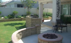 Backyard Design Ideas With Fire Pit The Latest Home Decor Ideas in Backyard Fire Pit Landscaping Ideas
