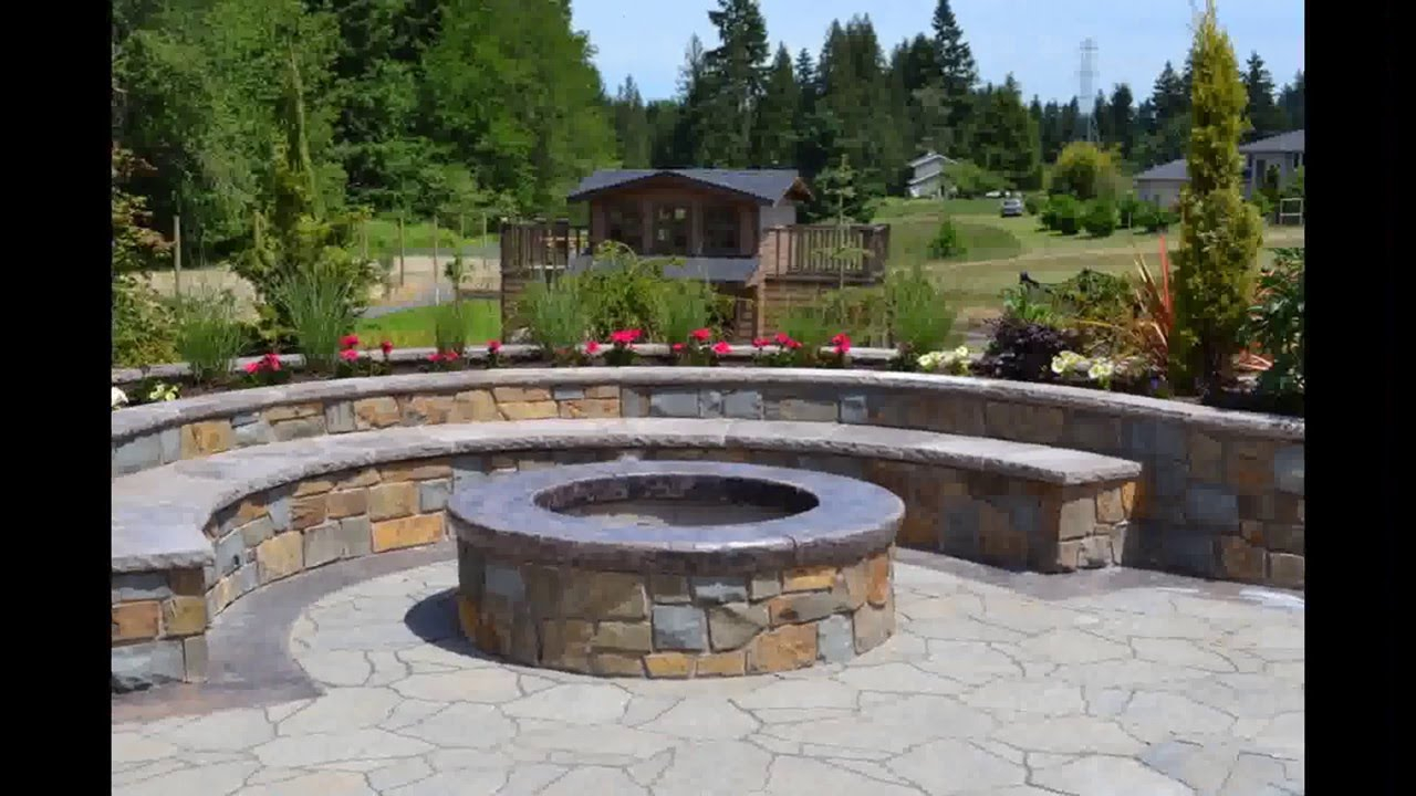 Backyard Fire Pit Designs Fire Pit Backyard Designs Youtube with Fire Pit Ideas For Small Backyard