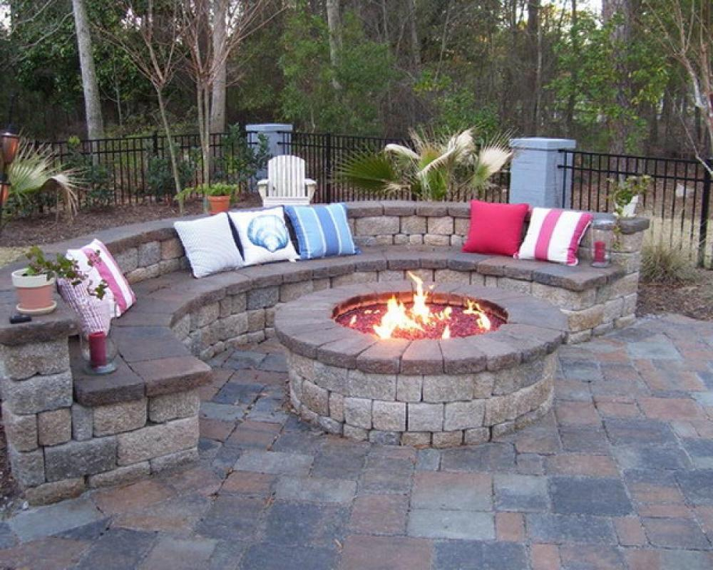Backyard Fire Pit Ideas Design Design Idea And Decors Backyard with Fire Pit Ideas For Small Backyard