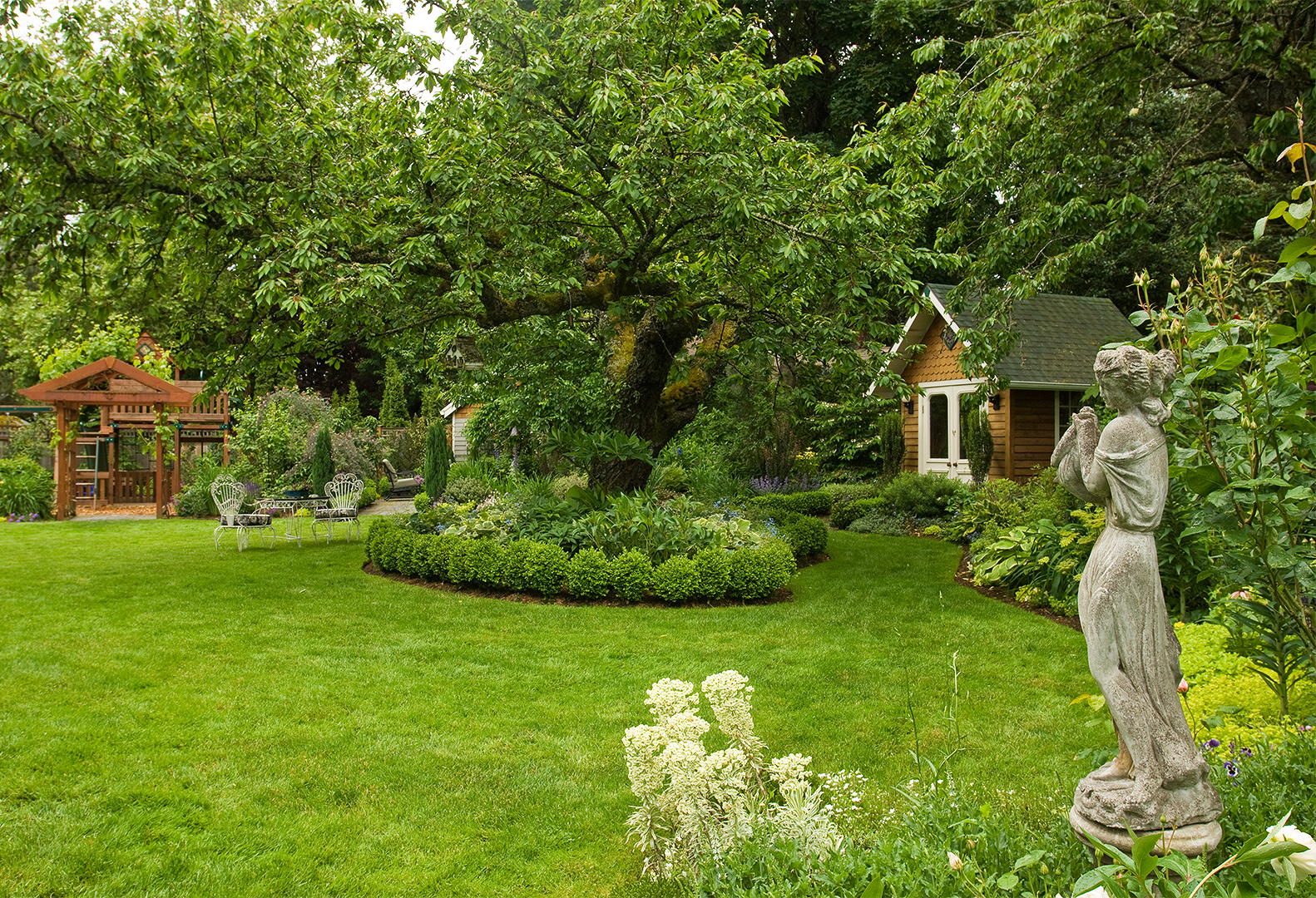 Backyard Landscaping Ideas throughout Backyard Landscapers