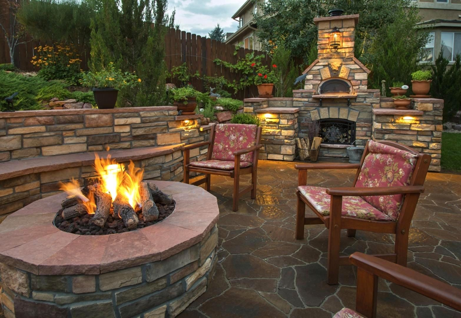 Backyard Landscaping Ideas With Fire Pit Turismoestrategicoco within Backyard With Fire Pit Landscaping Ideas