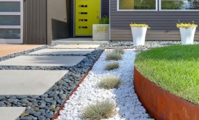 Backyard Landscaping Ideas With Rocks Green House pertaining to 13 Smart Concepts of How to Craft Backyard Landscaping Ideas With Stones