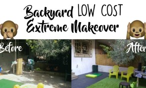 Backyard Makeover On A Budget Before After Youtube throughout Backyard Remodel Ideas On A Budget