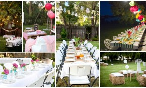 Backyard Party Decorations For Unforgettable Moments inside 10 Genius Ways How to Improve Backyard Party Ideas