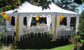 Backyard Party Tents The Latest Home Decor Ideas throughout 13 Clever Ways How to Makeover Backyard Tent Ideas