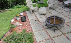 Backyard Patio Ideas On A Budget Inexpensive All Home Outdoor Small throughout Backyard Patio Ideas On A Budget