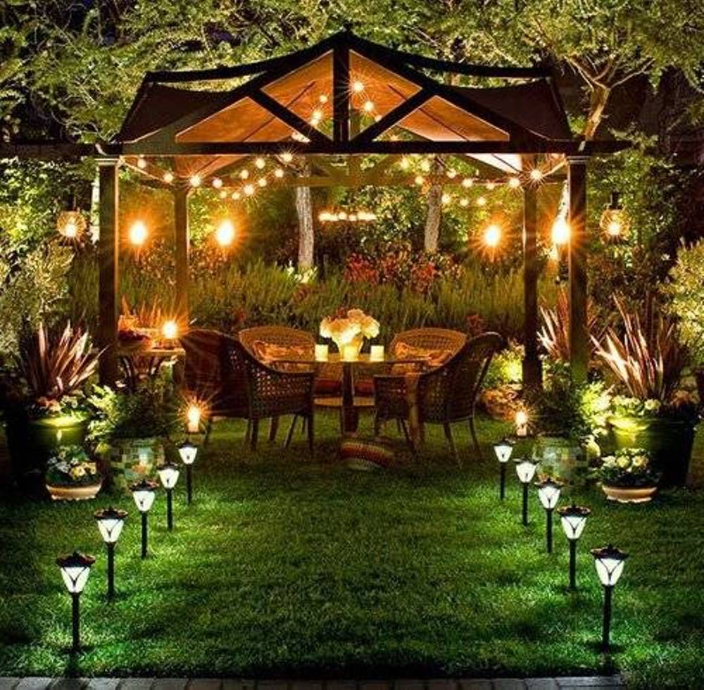 Backyard Patio Lighting Ideas The New Way Home Decor Patio intended for 14 Genius Ways How to Upgrade Backyard Lighting Ideas