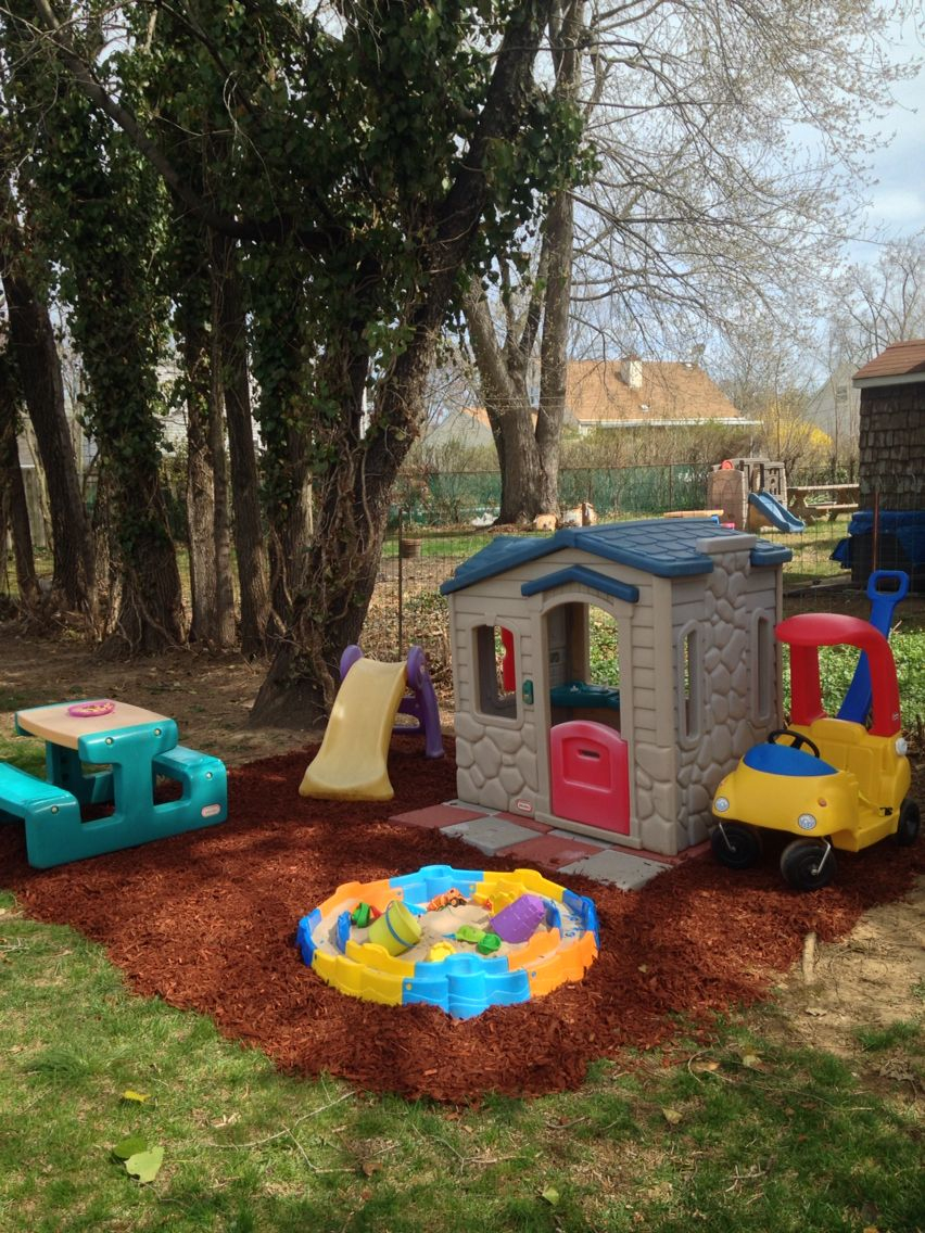 Backyard Playground Sandbox In 2019 Backyard Playground with regard to Toddler Backyard Ideas