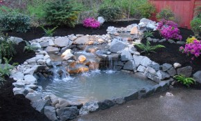 Backyard Pond Waterfalls Ideas Affordable But Tierra Este 69540 with regard to Backyard Pond Ideas With Waterfall