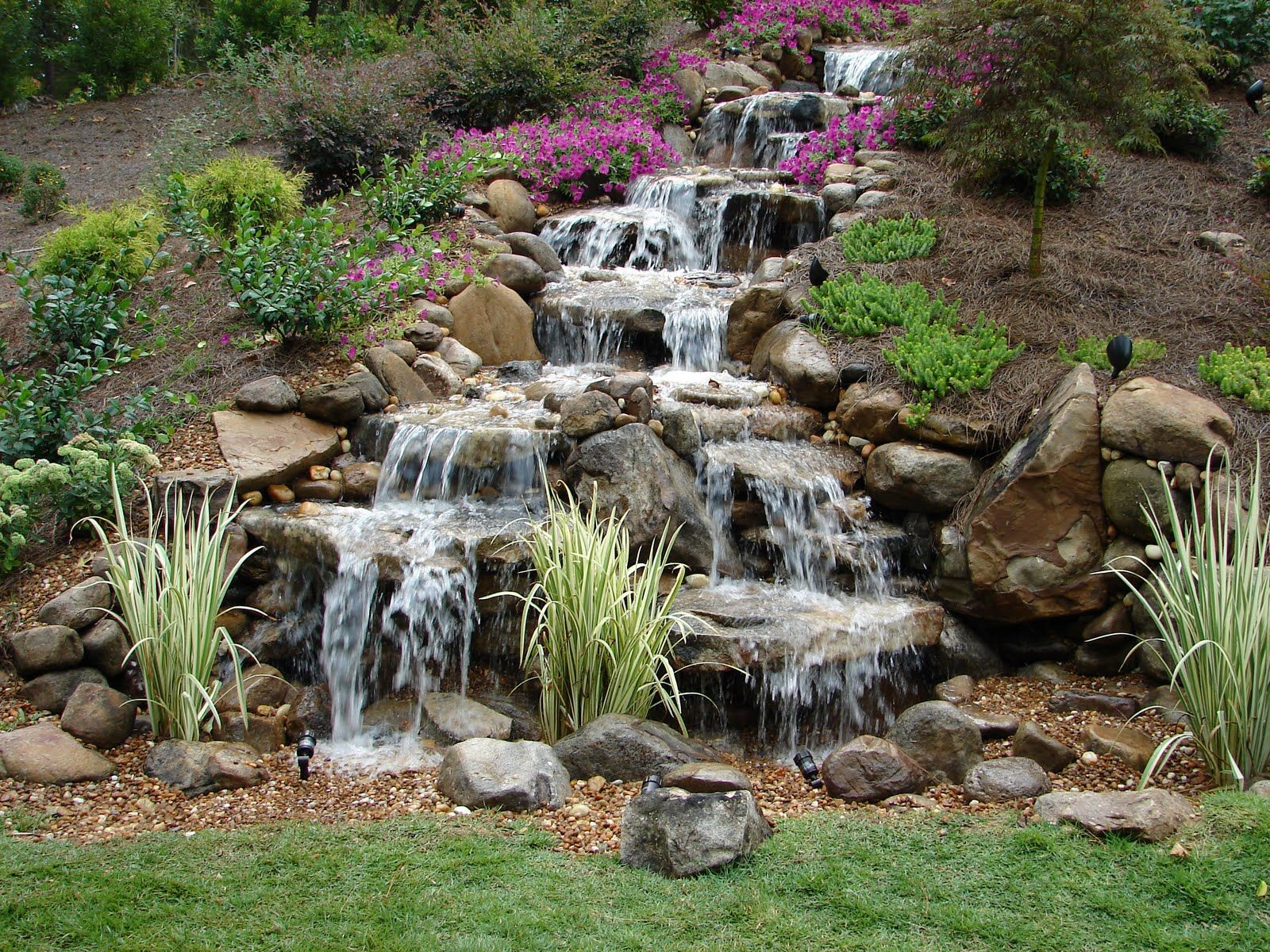 Backyard Waterfall Pictures Waterfalls Without Ponds The Drama Of with regard to 11 Smart Initiatives of How to Upgrade Waterfall Ideas For Backyard