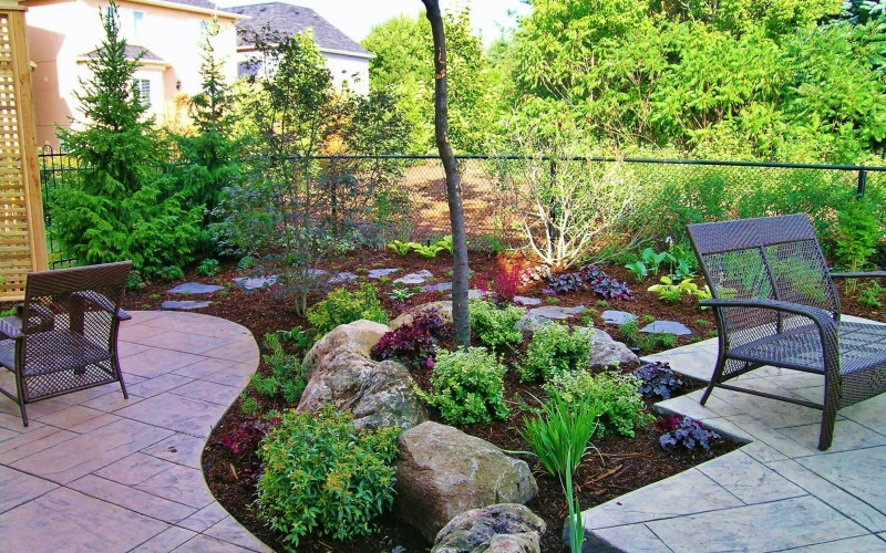 Backyard Without Grass Outdoors Small Garden Design Cheap inside 11 Awesome Initiatives of How to Improve Small Backyard Ideas No Grass