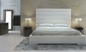 Bed Bedding This Modern Bedroom Very Elegant With Upholstered pertaining to 14 Awesome Ways How to Upgrade Modern Bedroom Headboards