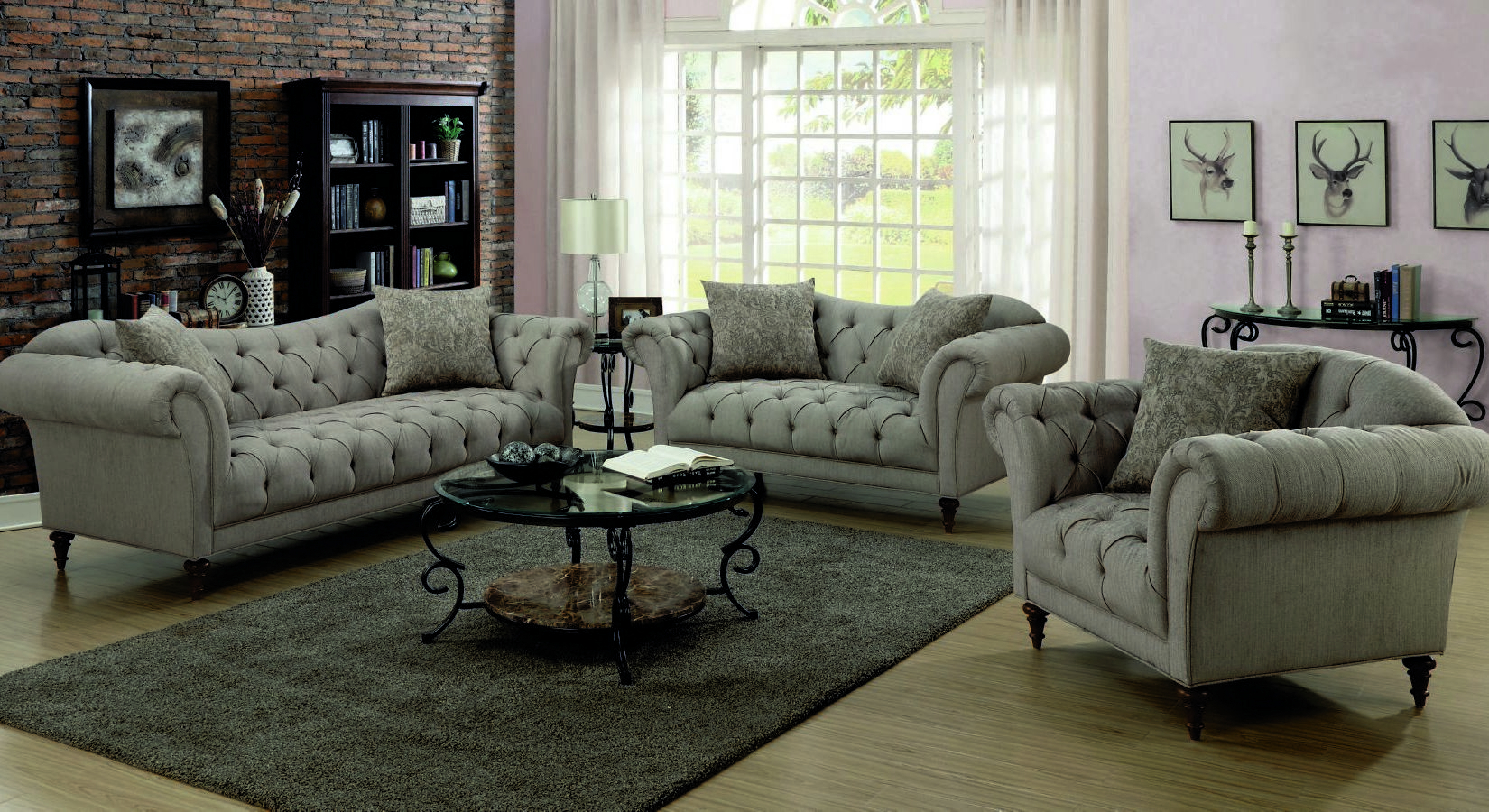 Bellision Alasdair Brown Two Piece Living Room Set throughout 13 Genius Ways How to Make Two Piece Living Room Set