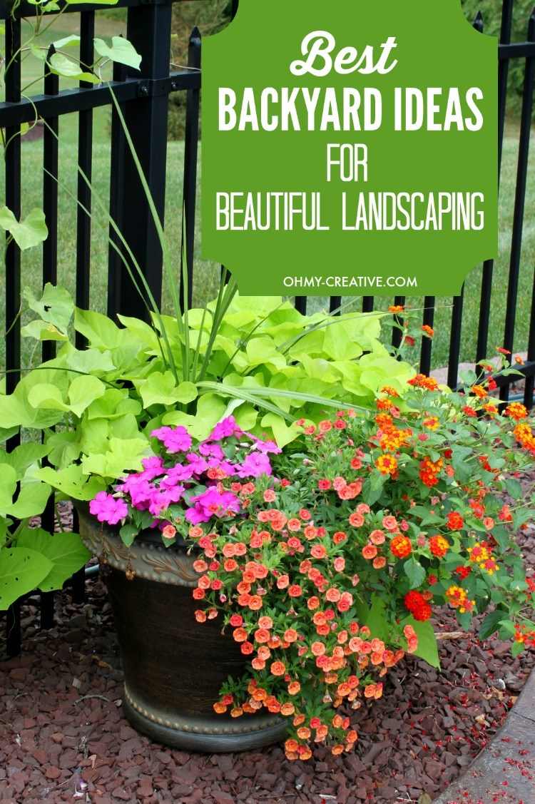 Best Backyard Ideas For Landscaping Oh My Creative pertaining to 11 Genius Ways How to Build Ideas For My Backyard